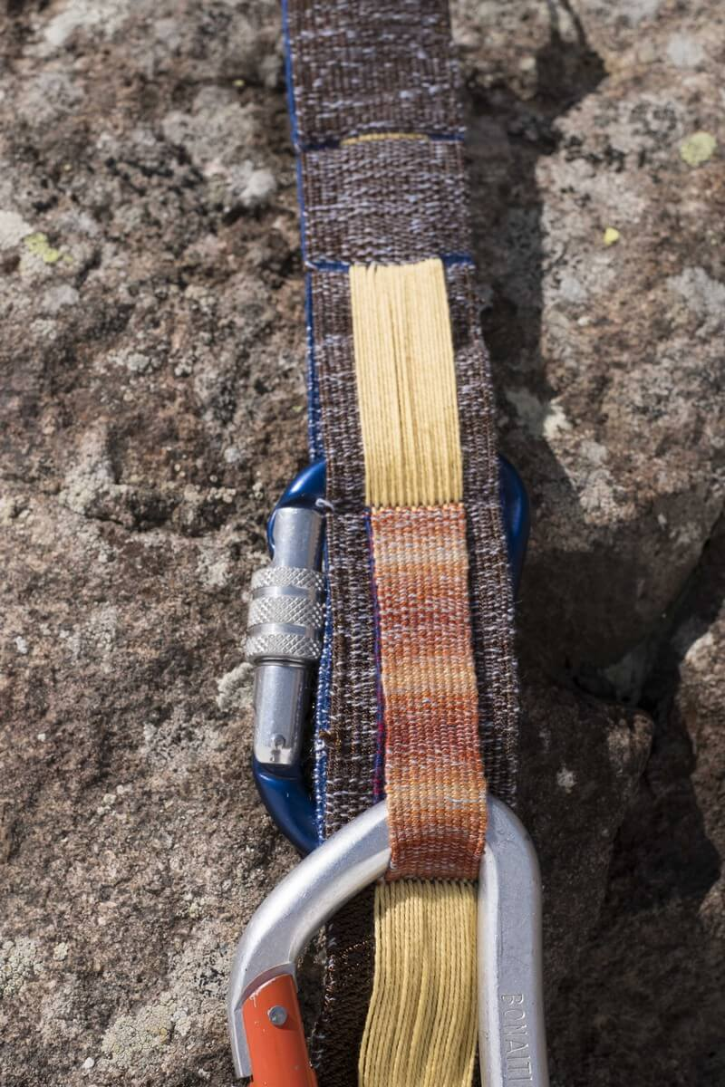 Francesca Miotti Textiles - Layered Landscapes on a Harness