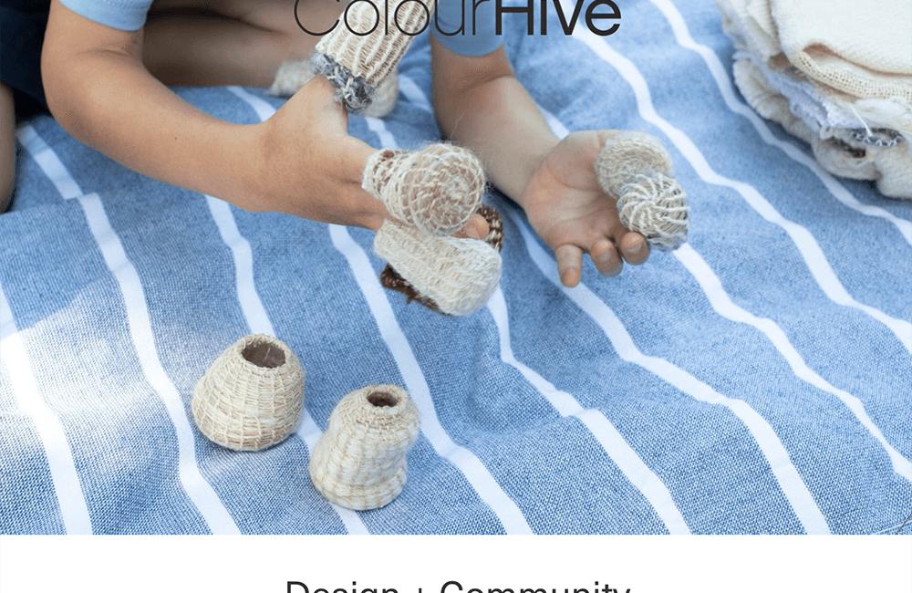 Francesca Miotti at Colour Hive X Central Saint Martins: Design + Community