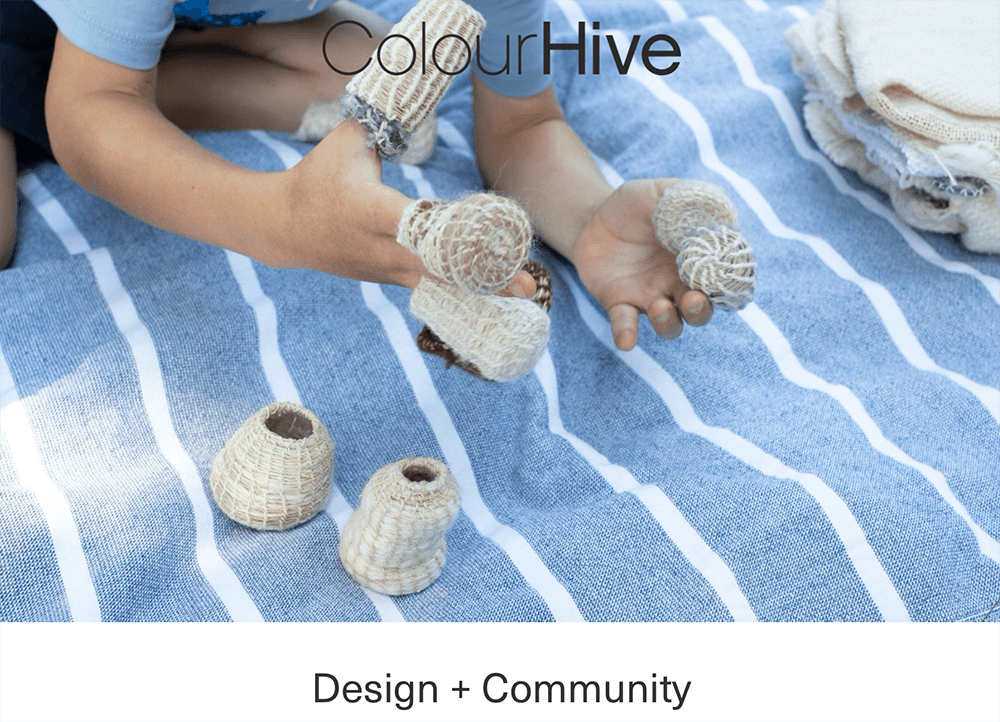 Francesca Miotti at Colour Hive X Central Saint Martins: Design + Community