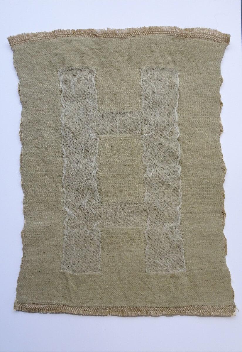 Francesca Miotti Textiles - Over the structures 2021 exhibition